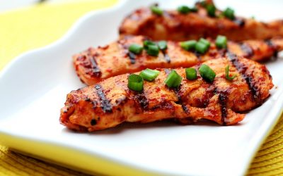 Marinated Smokey Chicken with Beer & Spices!
